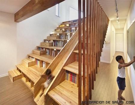 Librerías de madera