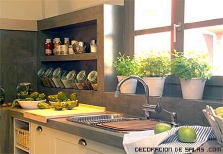 decoración sencilla de cocinas