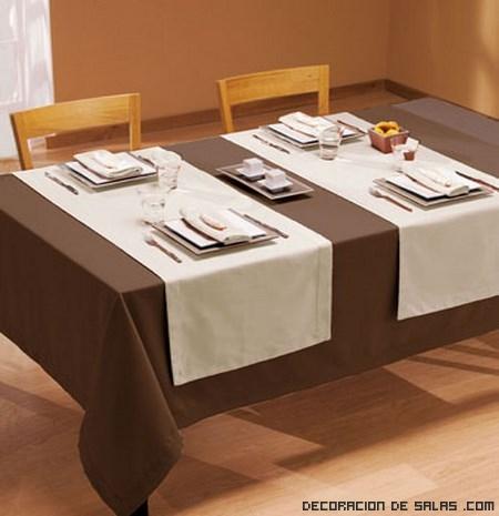Decoración de mesas para cenas