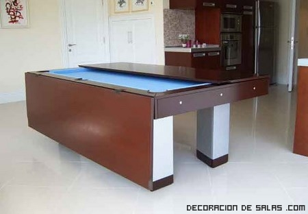 mesas de madera elegantes