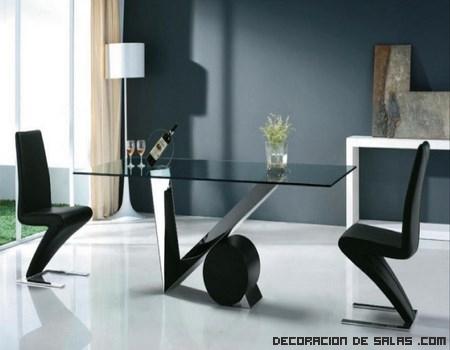Mesas de comedor modernas | DECORACIÓN DE SALAS