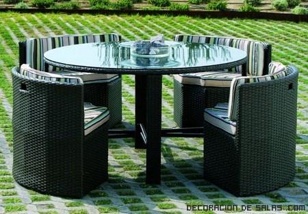 Mesas para jardines