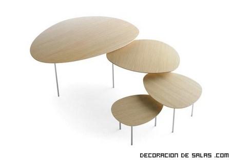 mesas redondas para salas pequeñas