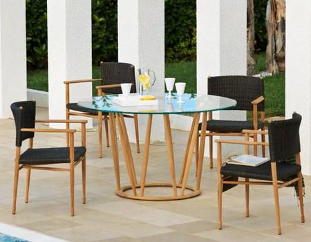 Mesas modernas para terraza