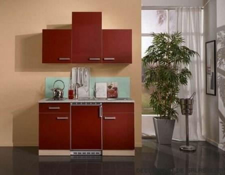 Cocinas de diseño en colores
