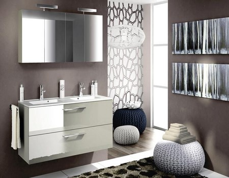 Muebles minimalistas para baño