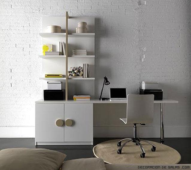 Muebles con puertas para escritorios
