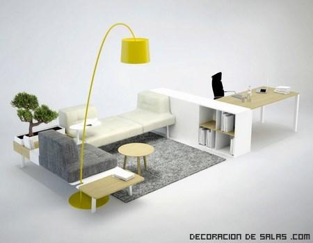 oficinas con muebles de diseño