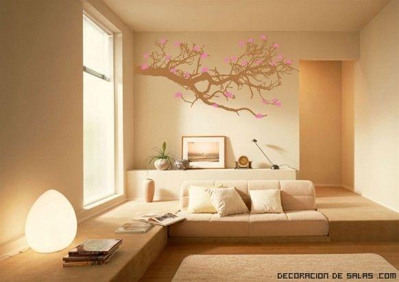 Colores para las paredes del salón