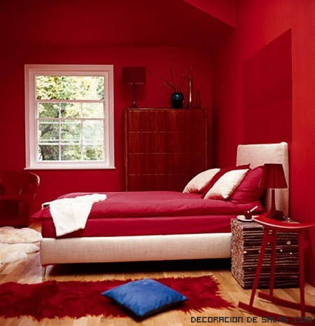 dormitorios de matrimonio en color