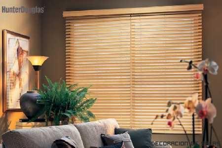 Persianas madera