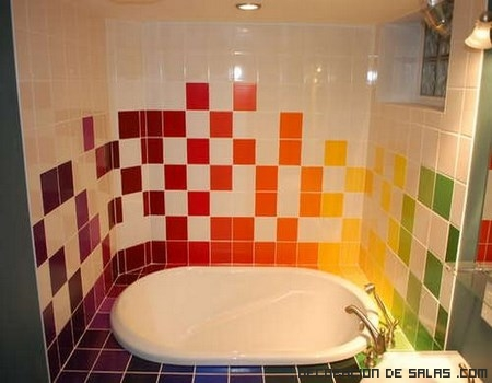 baños renovados en color