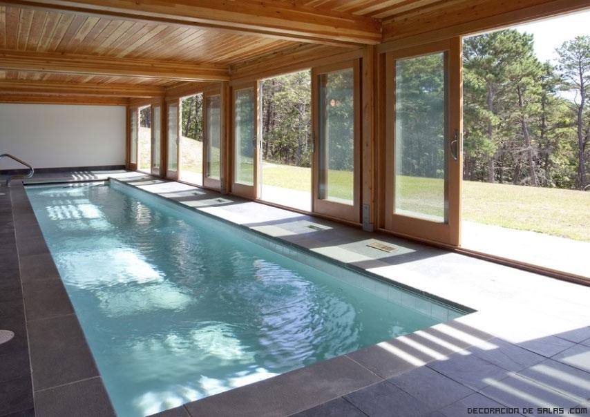 piscinas en el salón