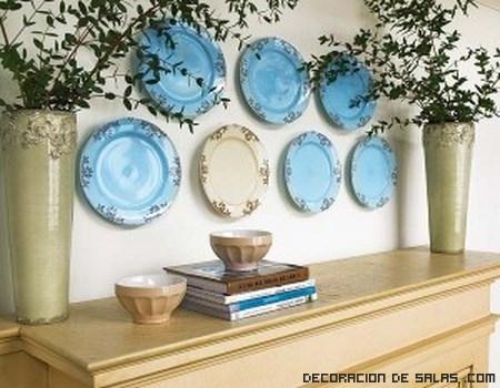 platos redondos para paredes