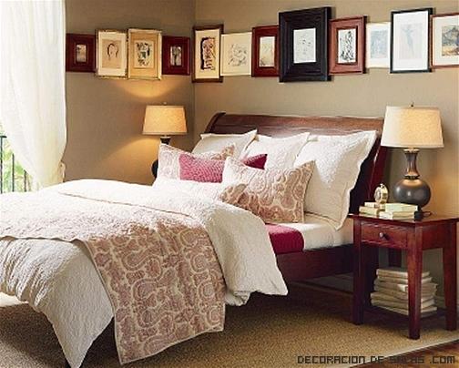 dormitorios con decoración económica