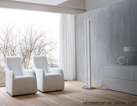 Radiador eléctrico en color blanco
