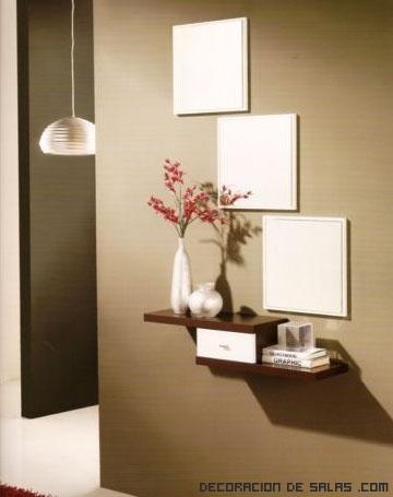 ideas para un recibidor elegante