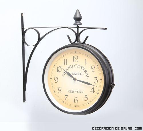 decoración con relojes