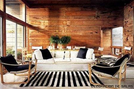 Salón madera