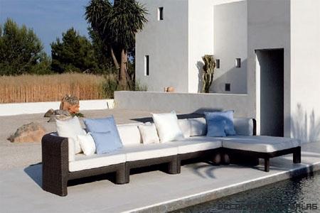 sofa para el jardin