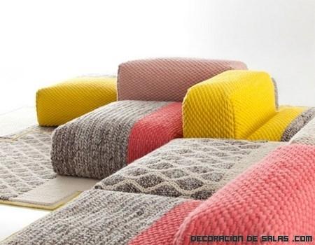 Sofás de colores