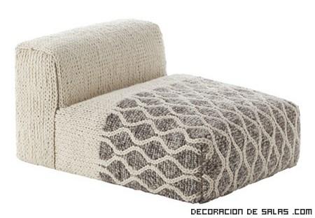 Sofás de lana modernos