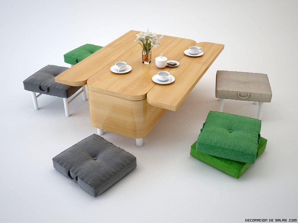 mesas de comedor convertibles