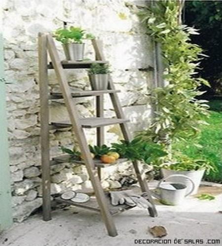 decoración en terrazas y jardines