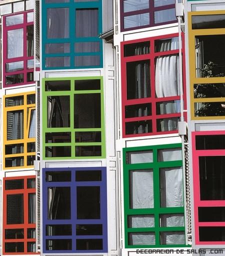 Pintar las ventanas de aluminio