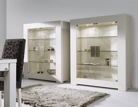 Vitrinas modernas para salón | Decoración de Salas