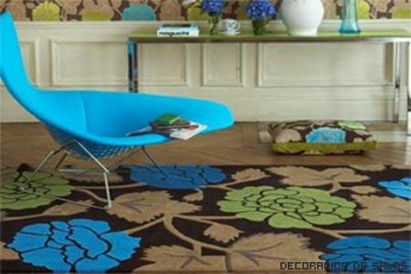 alfombra y pared