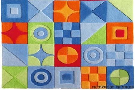alfombras geométricas