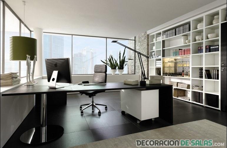 amplio despacho en casa