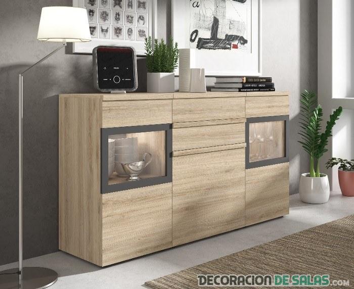 Los mejores muebles para poder tener el salón y el comedor ...