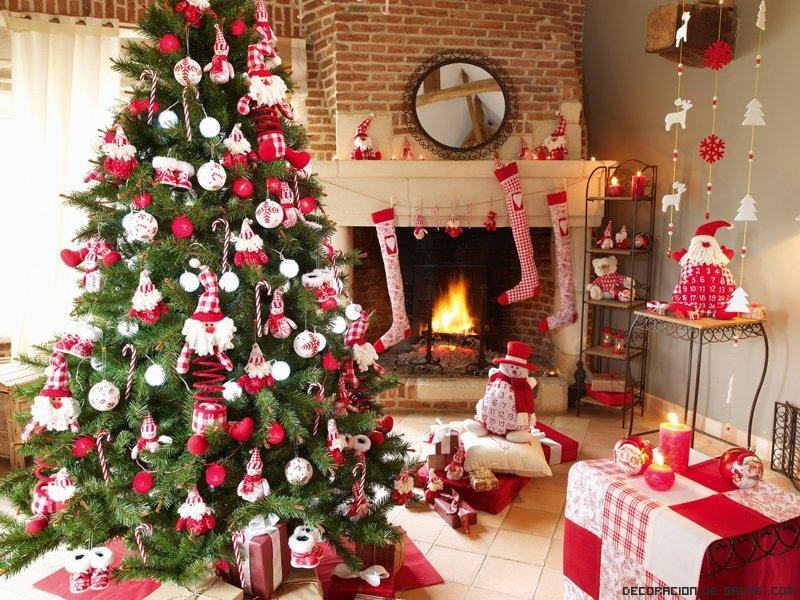 ideas para decorar salones en navidad