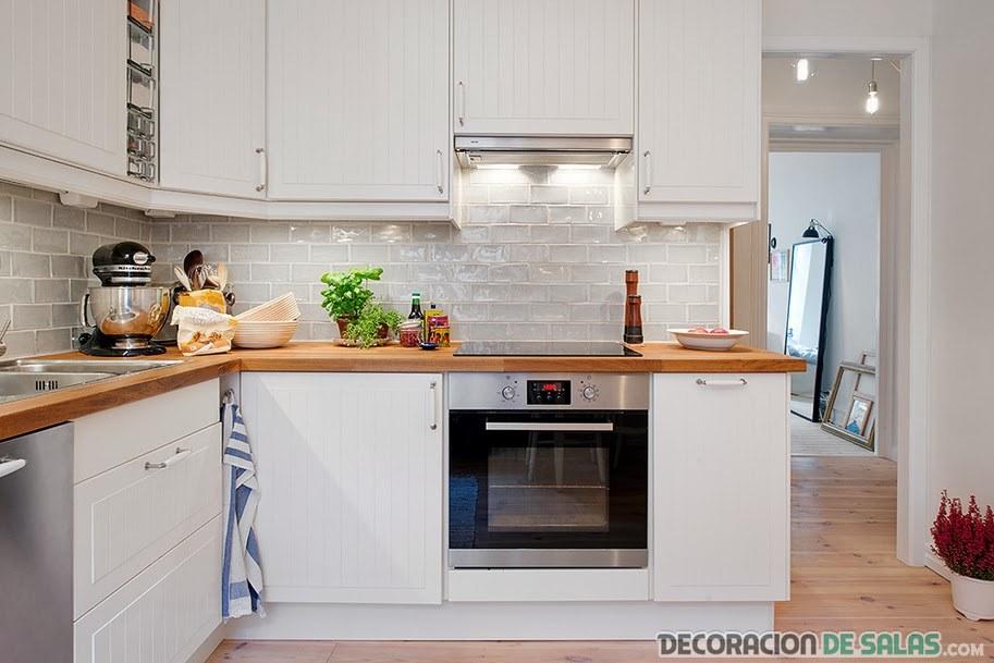 azulejos blancos para cocinas
