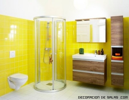 azulejos en color amarillo