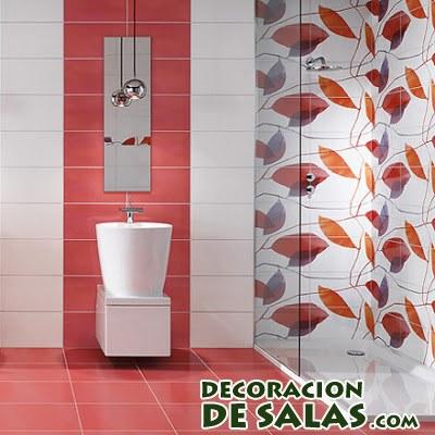 azulejos para baño en coral