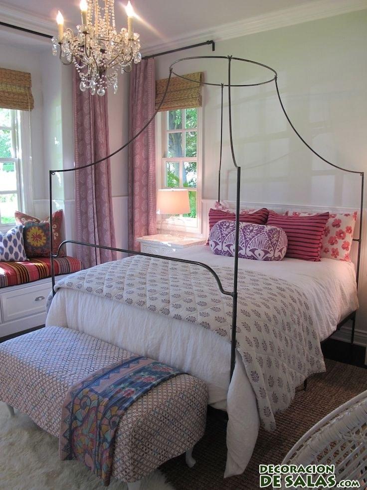 banco elegante para dormitorios