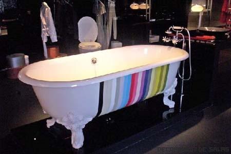 bañera estilo pop