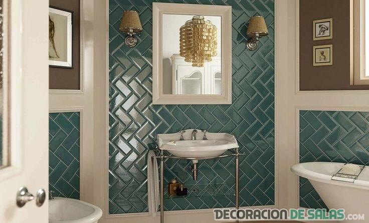 baño azulejos zig-zag