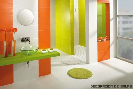 baño colores