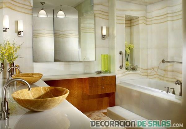 baño de diseño pequeño