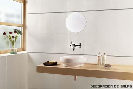 baño luminoso