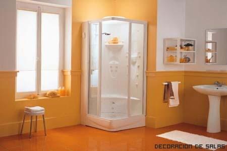 baño relax naranja