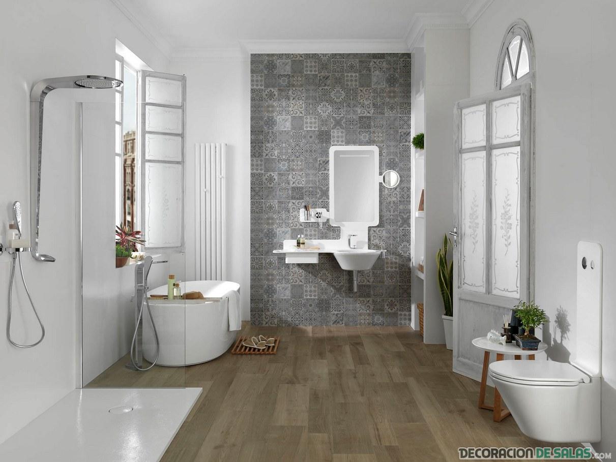 baños amplios y modernos