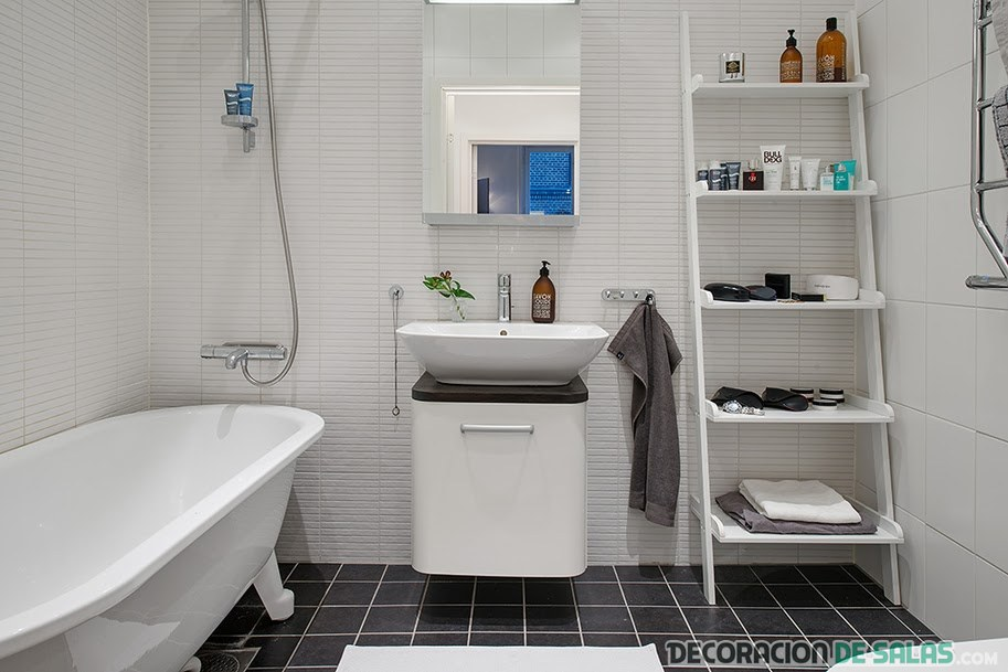 baños con estilo nórdico