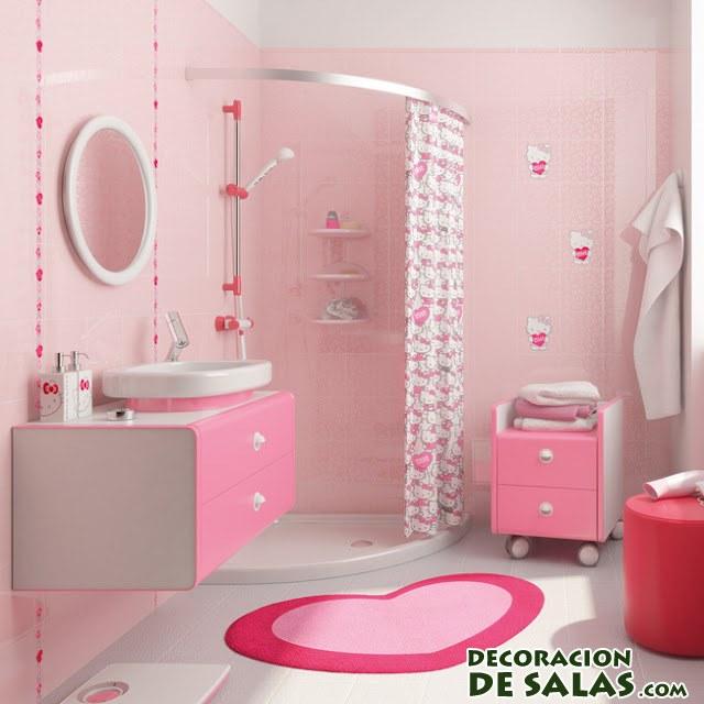 baños de niñas