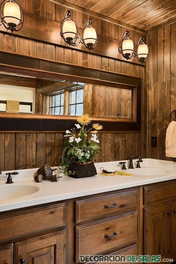 baños en madera