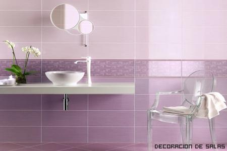 baño glamuroso